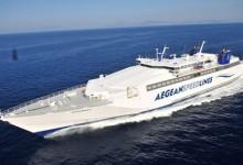 Aegean Speed lines.