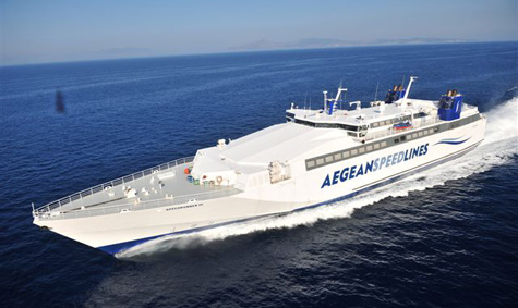 Aegean Speed lines.