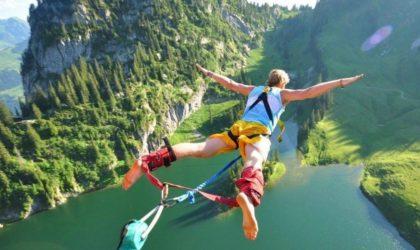 αλμα στο κενο bungee jump